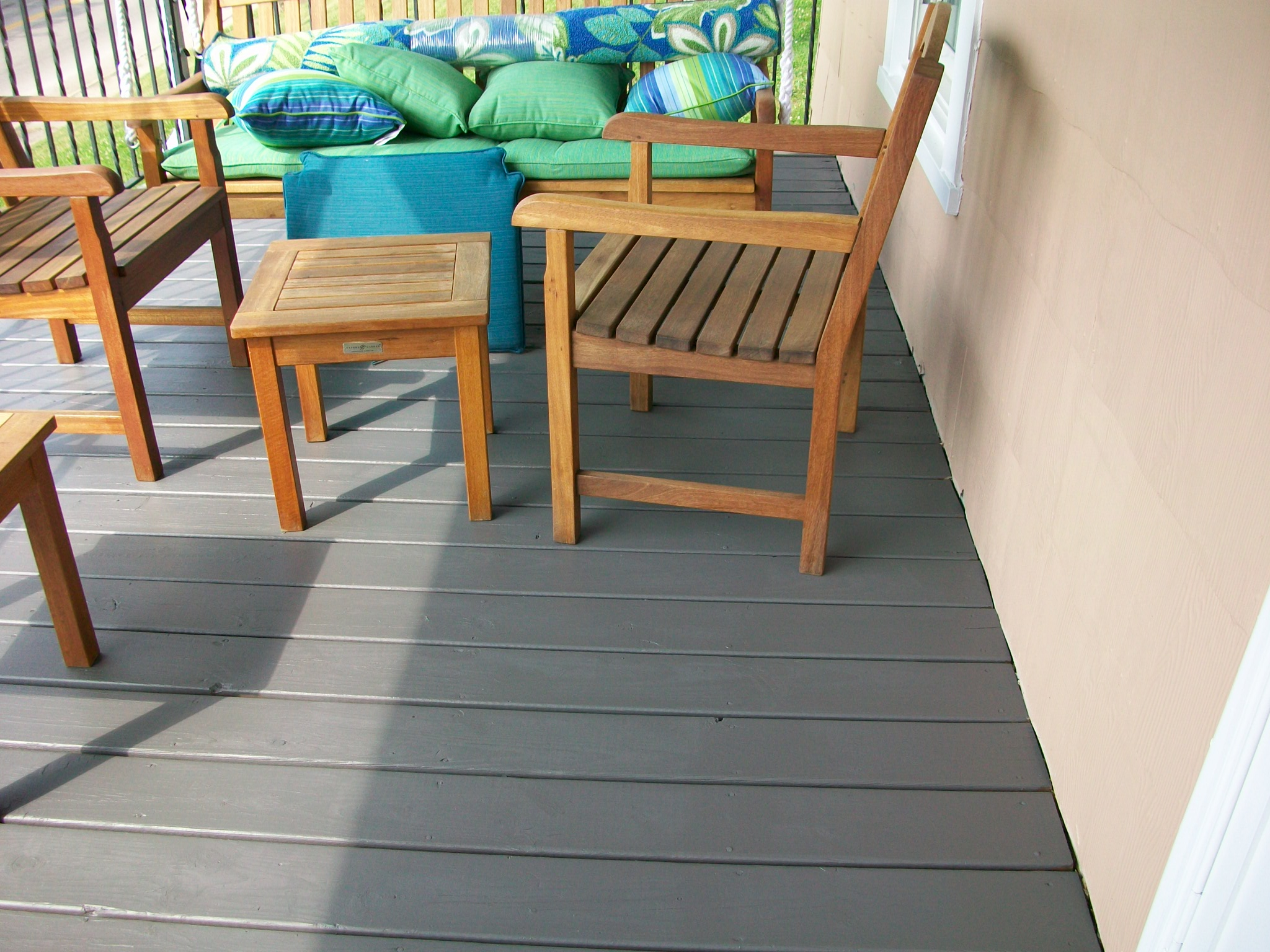 Patio Floor Paint Colors Pictures Worth Thousands Of Words And Roads Less  Traveled . Behr Porch ...