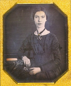 Amherst College Archives & Special Collections is the home of the original.Emily Dickinson. Daguerreotype. ca. 1847 is licensed under a Creative Commons Attribution-NonCommercial-ShareAlike 3.0 Unported License.