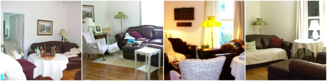 Liviing Room collage