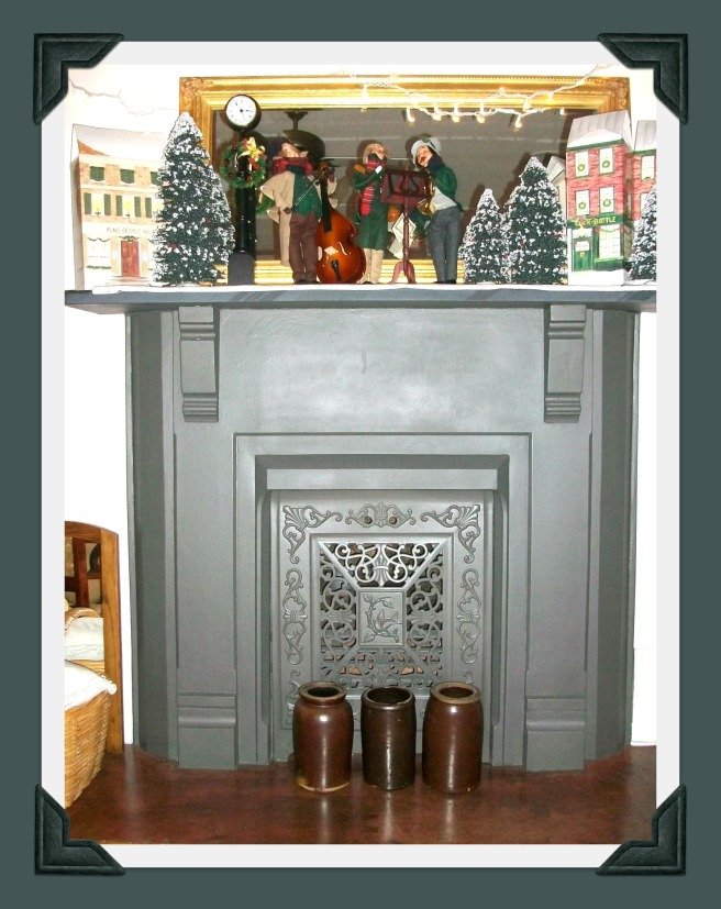 fireplace.carolers